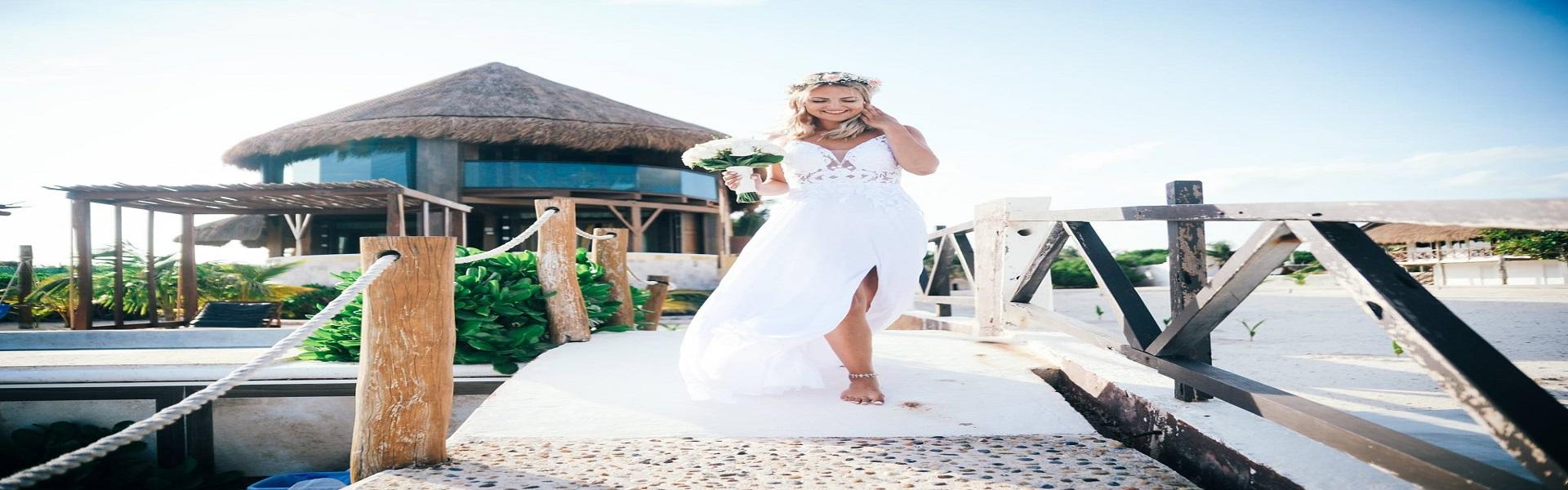 wedding beachvillasuites mexico