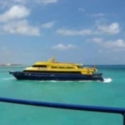 Ferry Playa to Cozumel