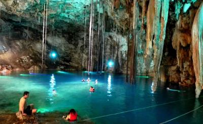 Route the Cenotes